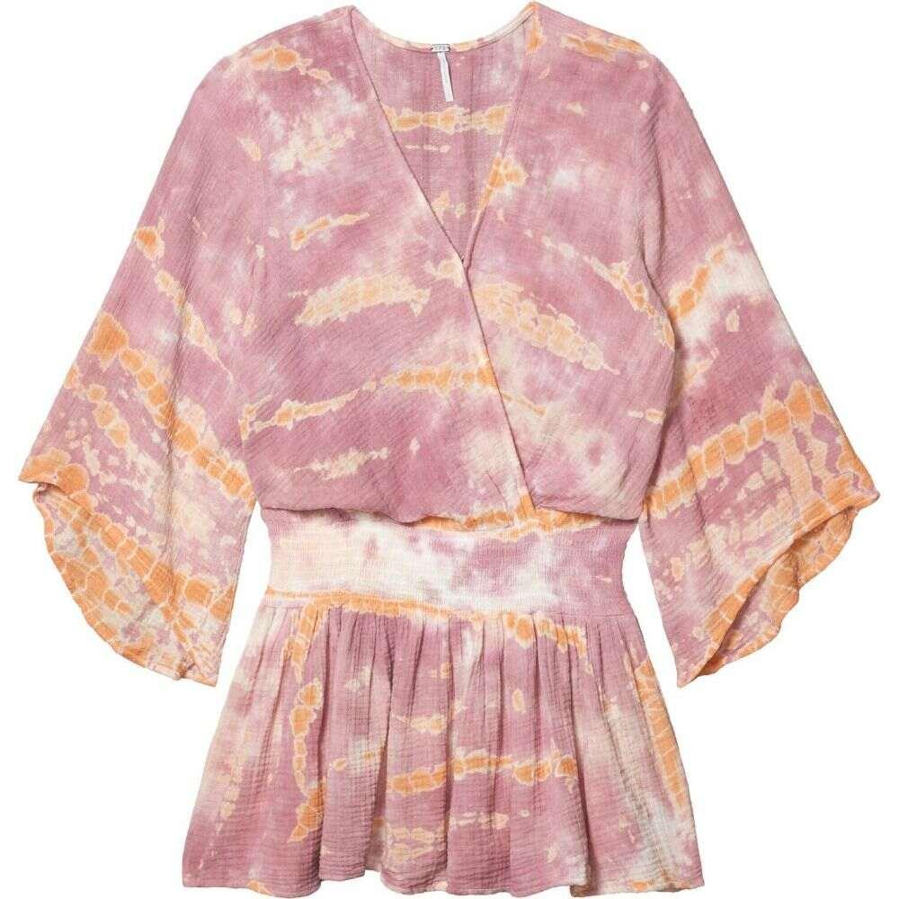 ヤング ファビュラス アンド ブローク Young Fabulous & Broke レディース ワンピース ワンピース・ドレス【Ellery Dress】Peach/Bamboo