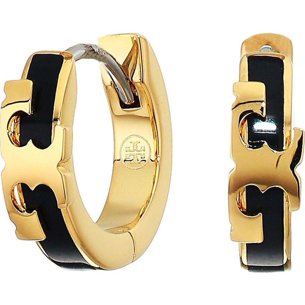 トリー バーチ Tory Burch レディース イヤリング・ピアス ジュエリー・アクセサリー【Kira Stackable Huggie Hoop Earrings】Tory Gold/Tory Navy