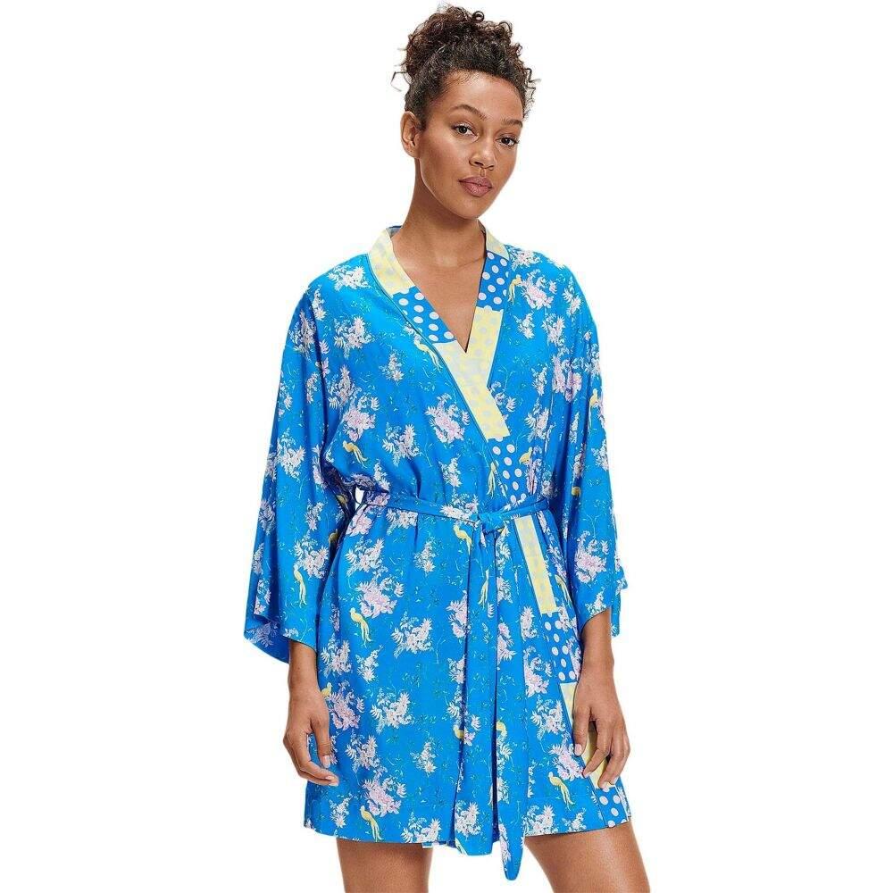 アグ UGG レディース ガウン・バスローブ インナー・下着【Lolla Robe】Blue Aster Floral