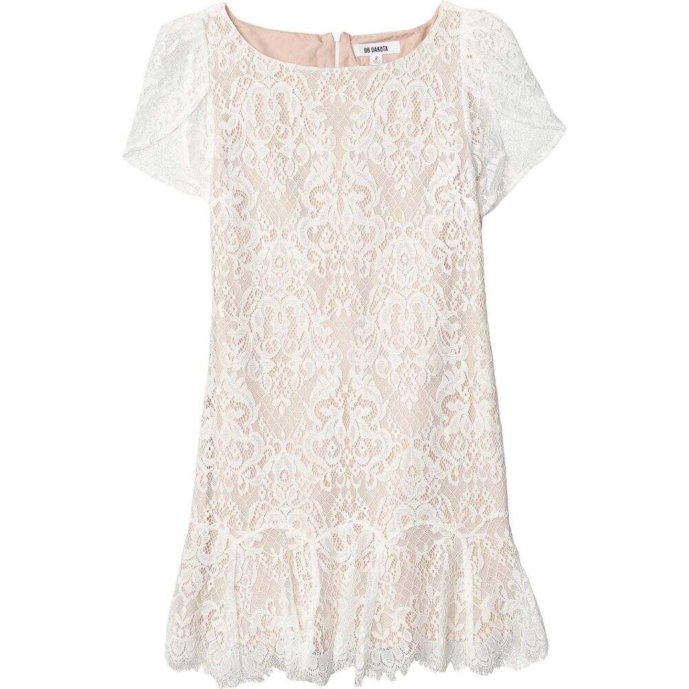 ビービーダコタ BB Dakota レディース ワンピース ワンピース・ドレス【Fast Lace Environment Lace Dress with Nude Lining】Ivory