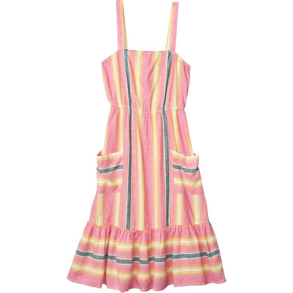 ビービーダコタ BB Dakota レディース ワンピース ワンピース・ドレス【Yarn-Dyed Linen Stripe Dress】Pink Lemonade