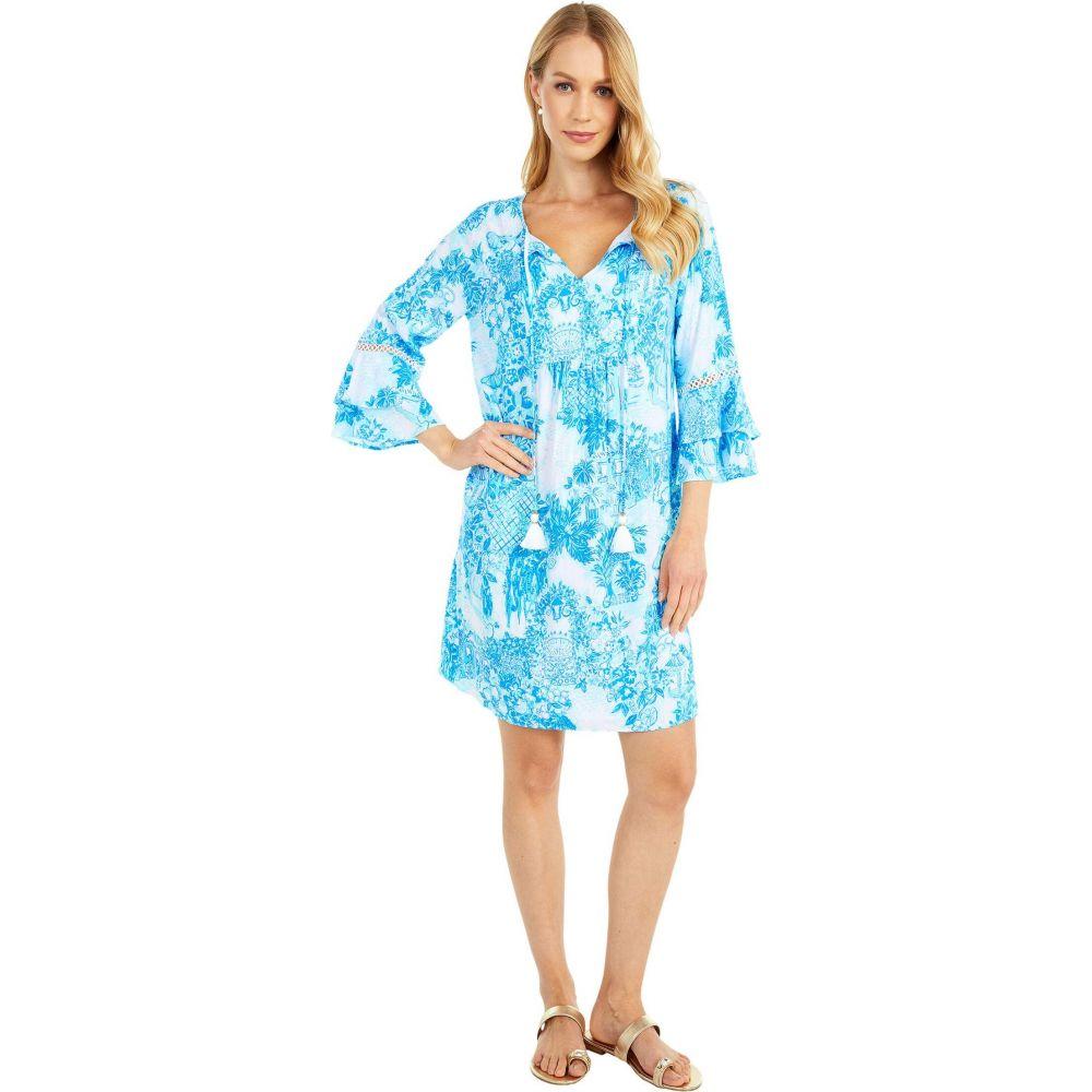 リリーピュリッツァー Lilly Pulitzer レディース ワンピース チュニックドレス ワンピース・ドレス【Azita Tunic Dress】Multi Toile Me About It