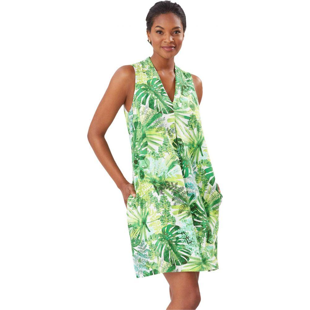 トミー バハマ Tommy Bahama レディース ワンピース シフトドレス ワンピース・ドレス【Fronderlust Shift Dress】White