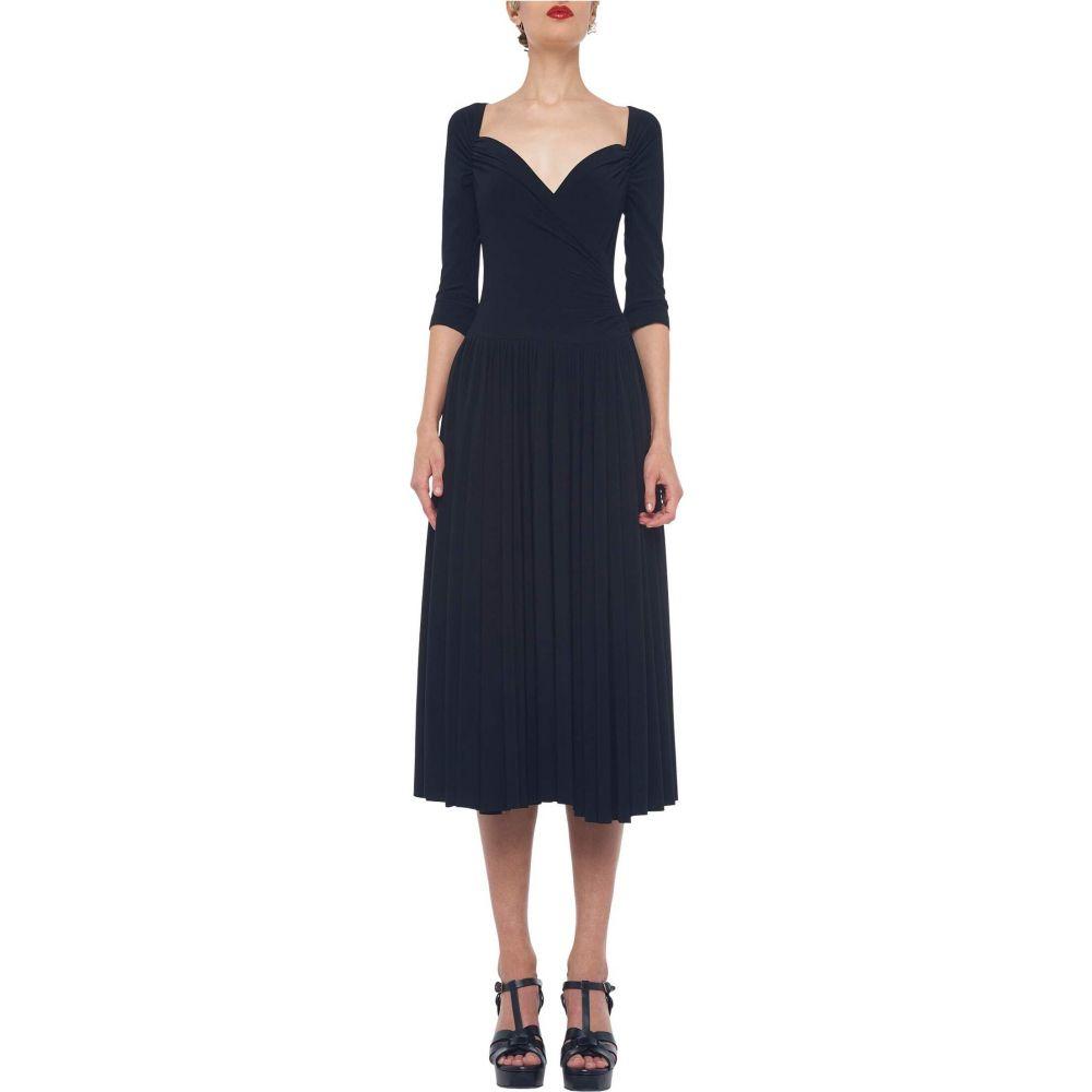 ノーマ カマリ KAMALIKULTURE by Norma Kamali レディース ワンピース ワンピース・ドレス【Super Flair Dress】Black