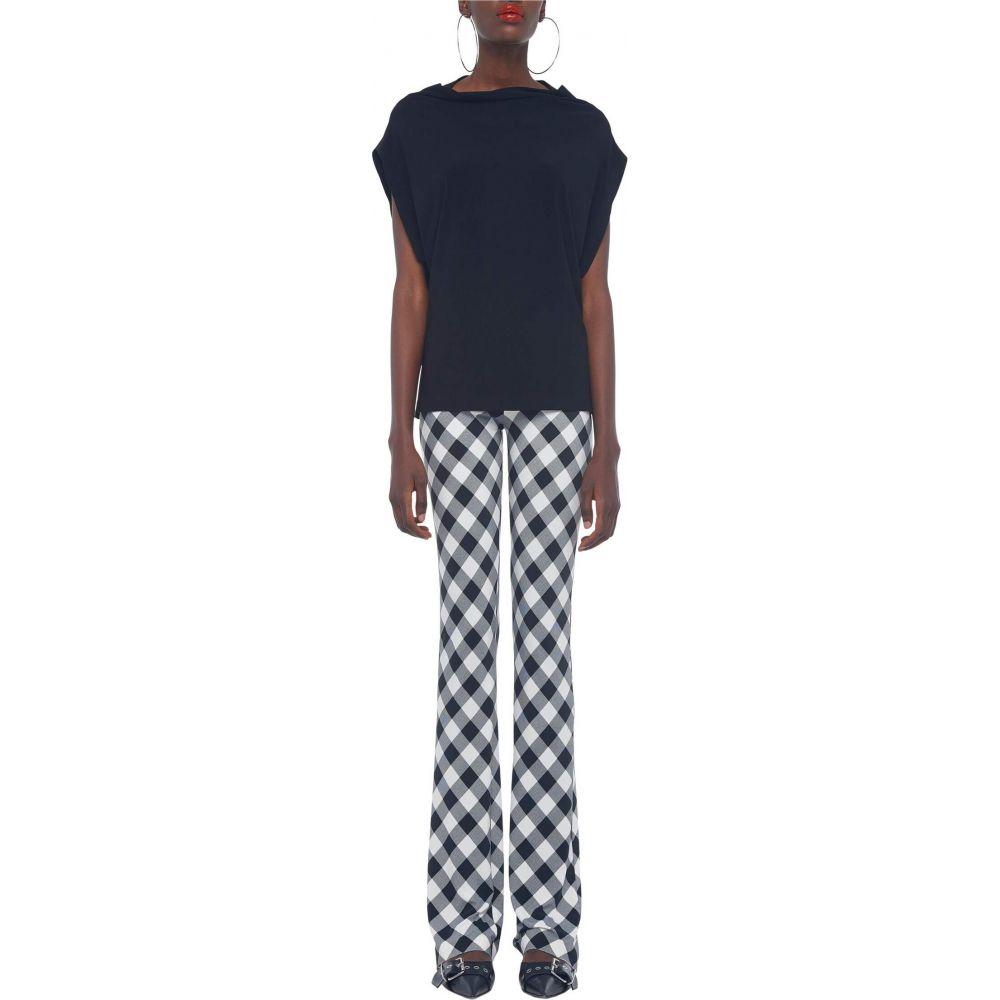 ノーマ カマリ KAMALIKULTURE by Norma Kamali レディース ボトムス・パンツ 【Boot Pants】Black Buff Check