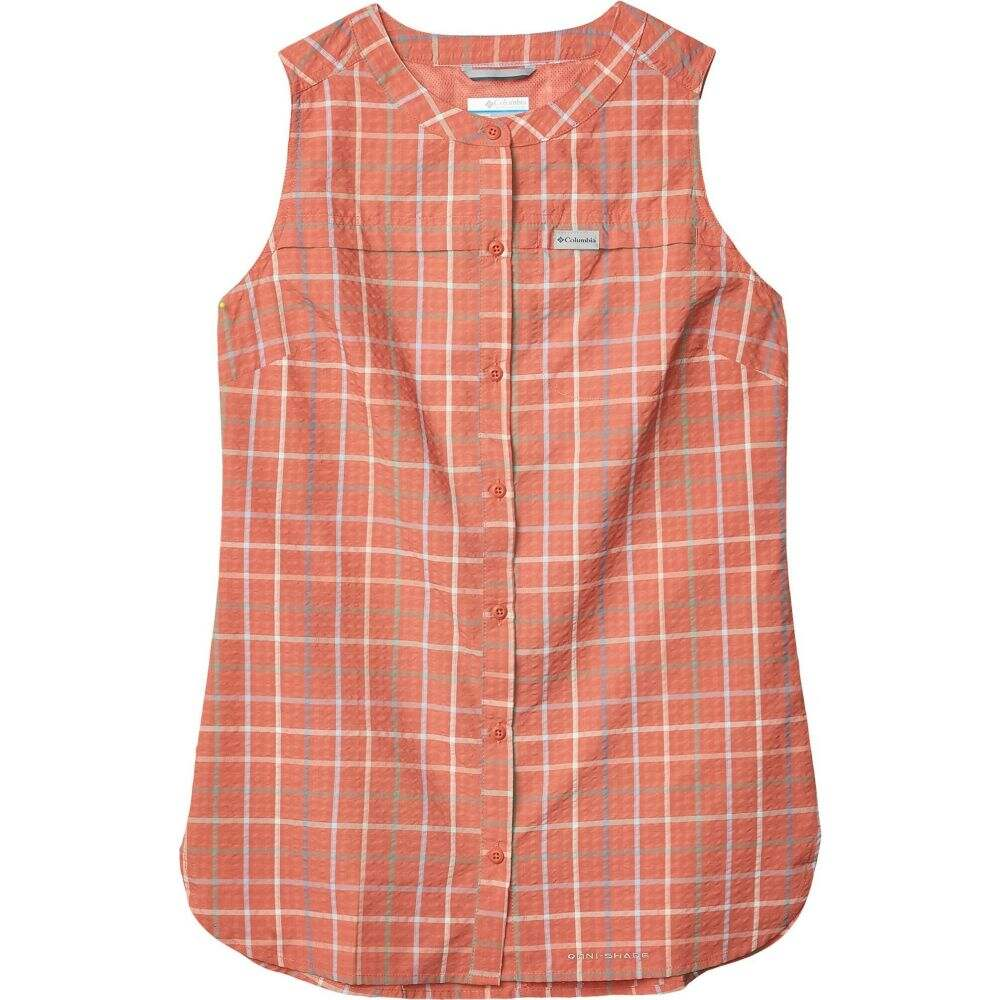 コロンビア Columbia レディース チュニック トップス【Silver Ridge(TM) Novelty Tunic】Dark Coral Windowpane