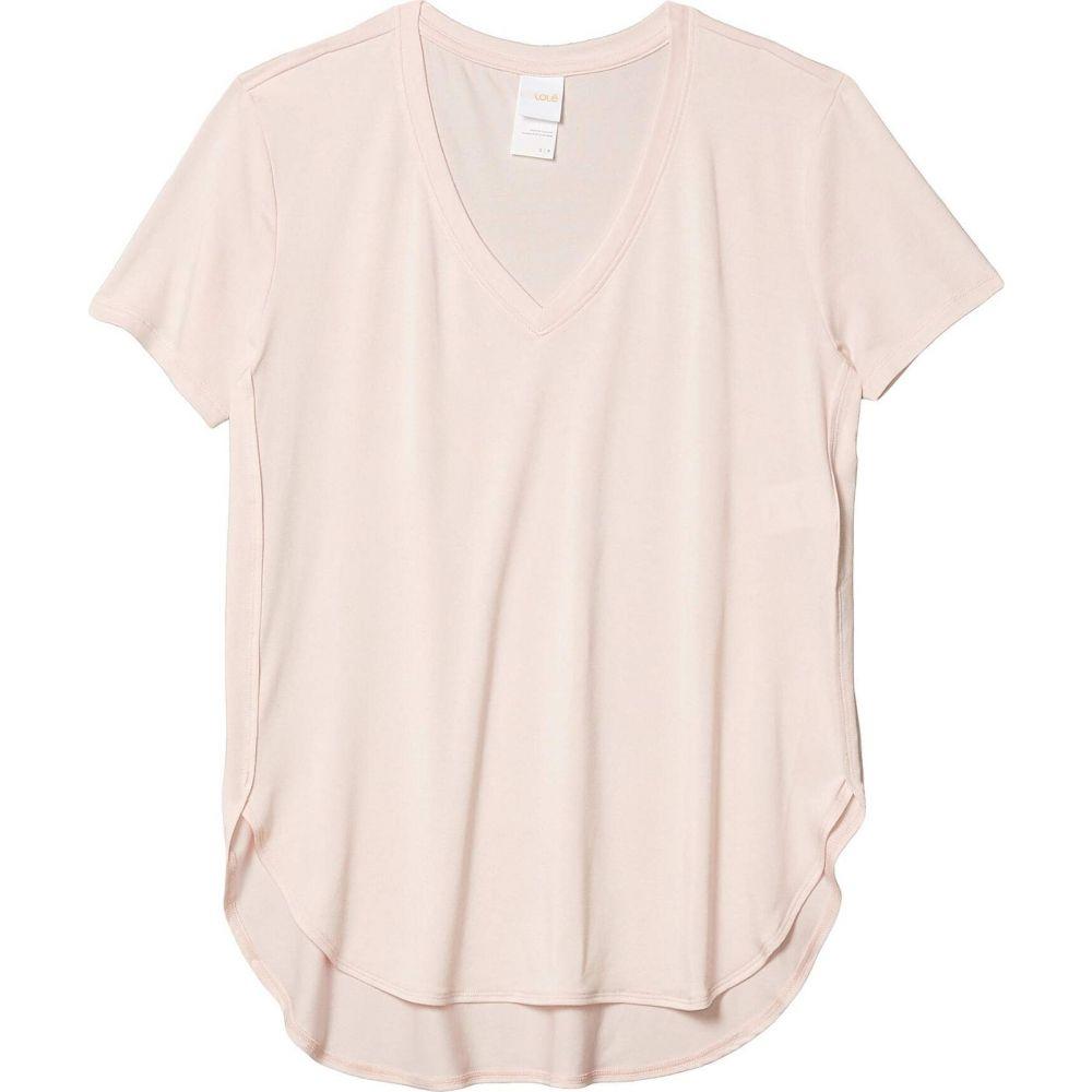 ロール Lole レディース Tシャツ Vネック トップス【Agda V-Neck】Crystal Pink