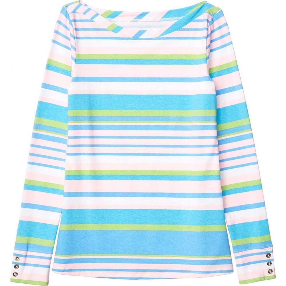 リリーピュリッツァー Lilly Pulitzer レディース Tシャツ トップス【Aleah Top】Multi Paradise Stripe
