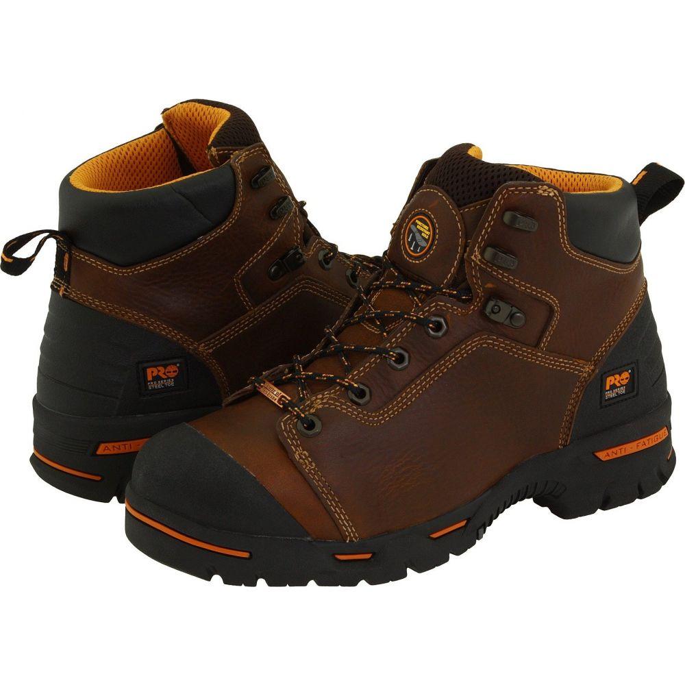 ティンバーランド Timberland PRO メンズ ブーツ シューズ・靴【Endurance PR 6' Waterproof Steel Toe】Brown