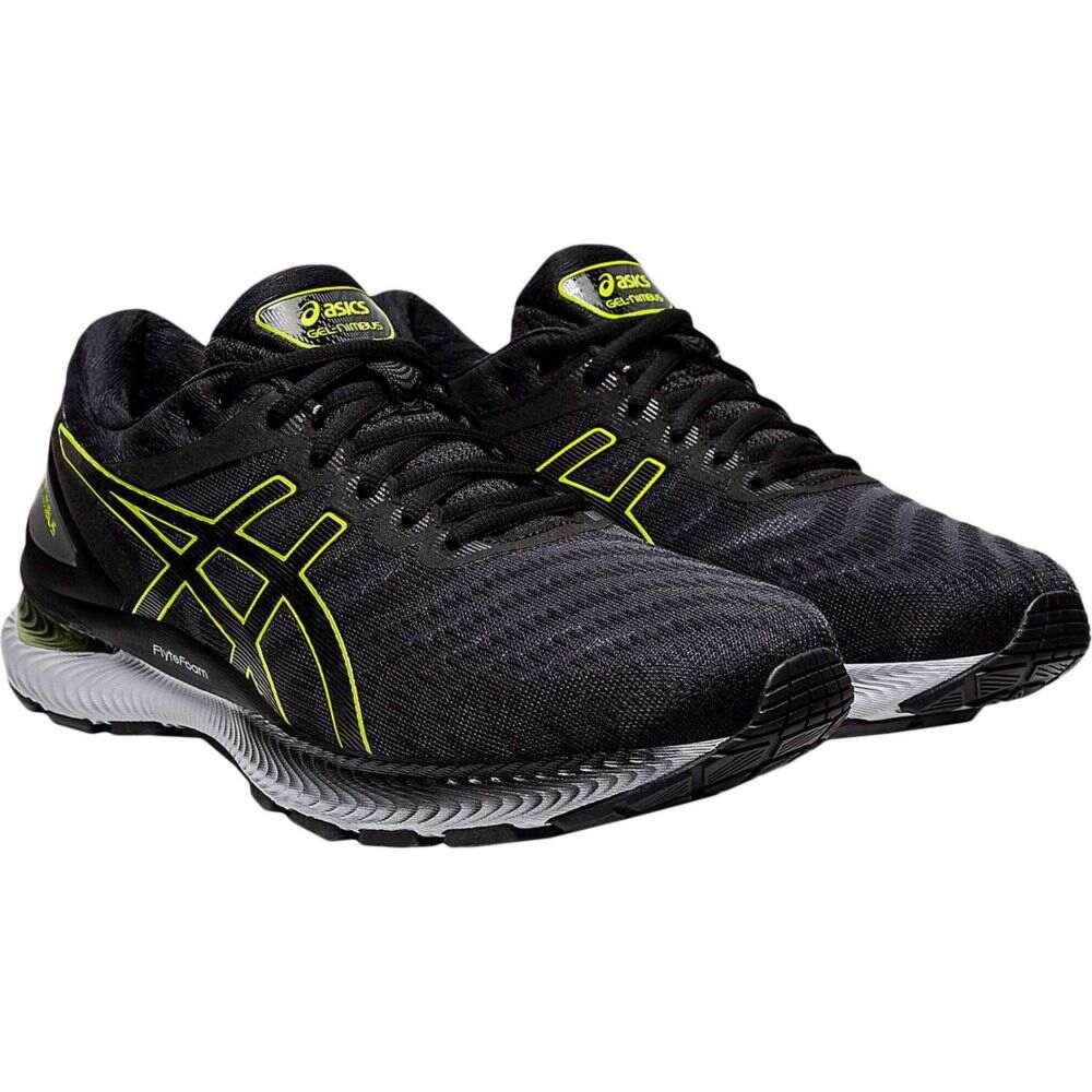 アシックス ASICS メンズ ランニング・ウォーキング シューズ・靴【GEL-Nimbus 22】Carrier Grey/Lime Zest