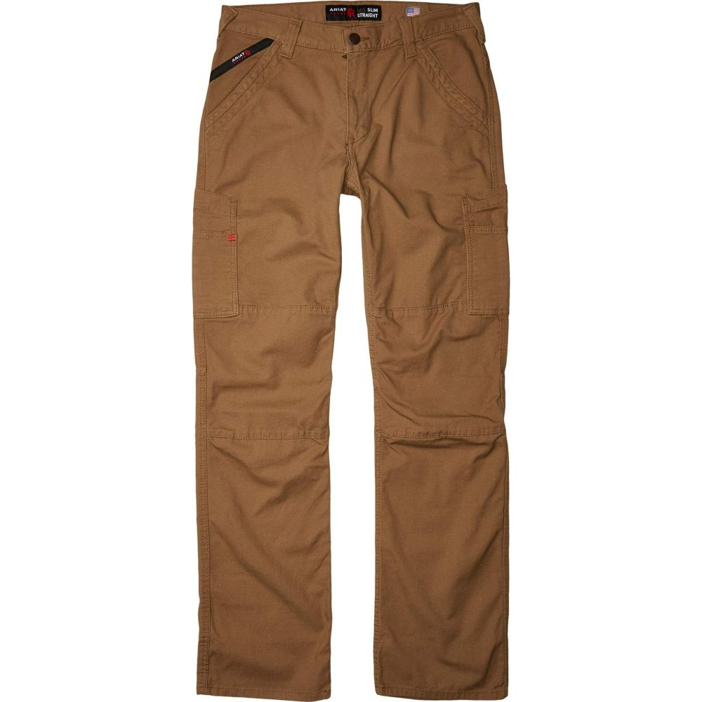 アリアト Ariat メンズ スキニー・スリム ボトムス・パンツ【FR M5 Slim Duralight Stretch Canvas Straight Leg Pants】Field Khaki