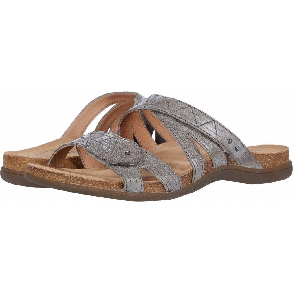 タオス Taos Footwear レディース サンダル・ミュール シューズ・靴【Premier】Grey