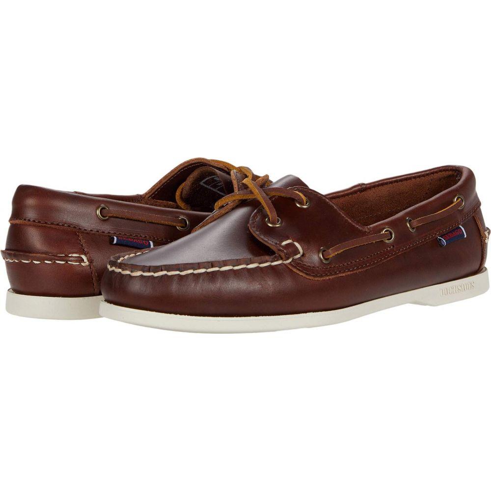 セバゴ Sebago レディース スリッポン・フラット シューズ・靴【Jacqueline Waxy】Brown