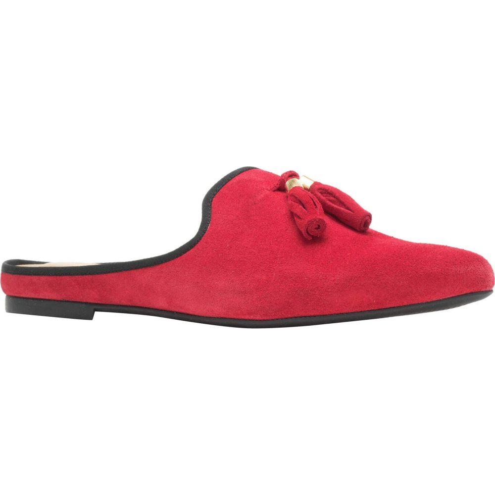 ハッシュパピー Hush Puppies レディース サンダル・ミュール シューズ・靴【Sadie Tassel Mule】Red