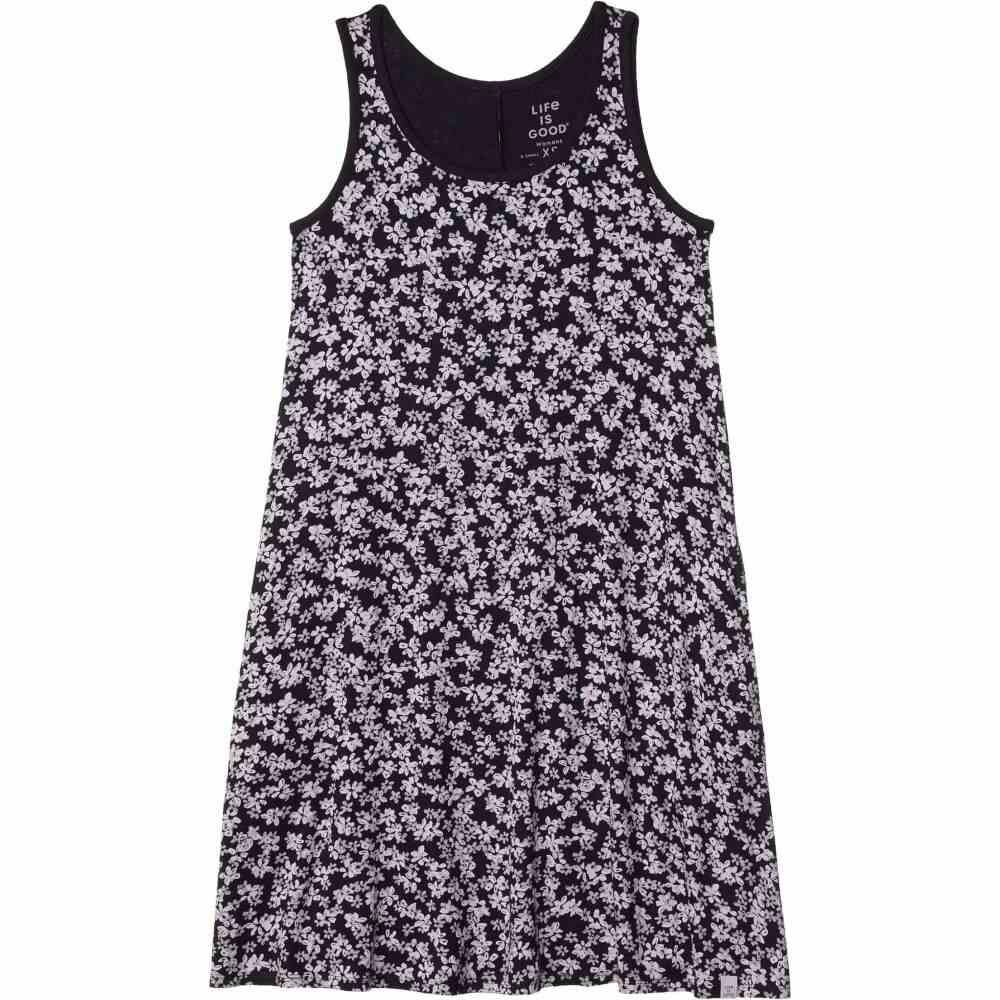ライフイズグッド Life is Good レディース ワンピース ワンピース・ドレス【Trapeze Pocket Dress】Jet Black