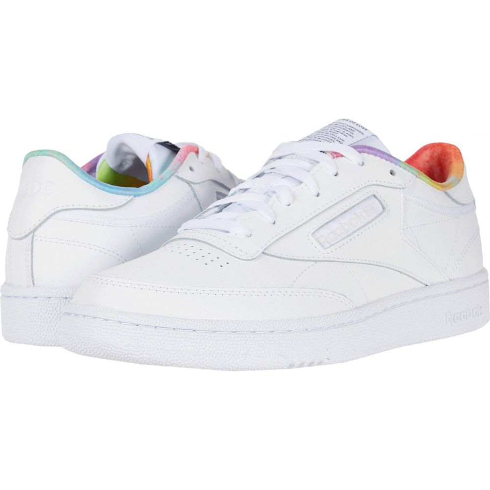 リーボック Reebok Lifestyle レディース スニーカー シューズ・靴【Club C 85】White/White/White