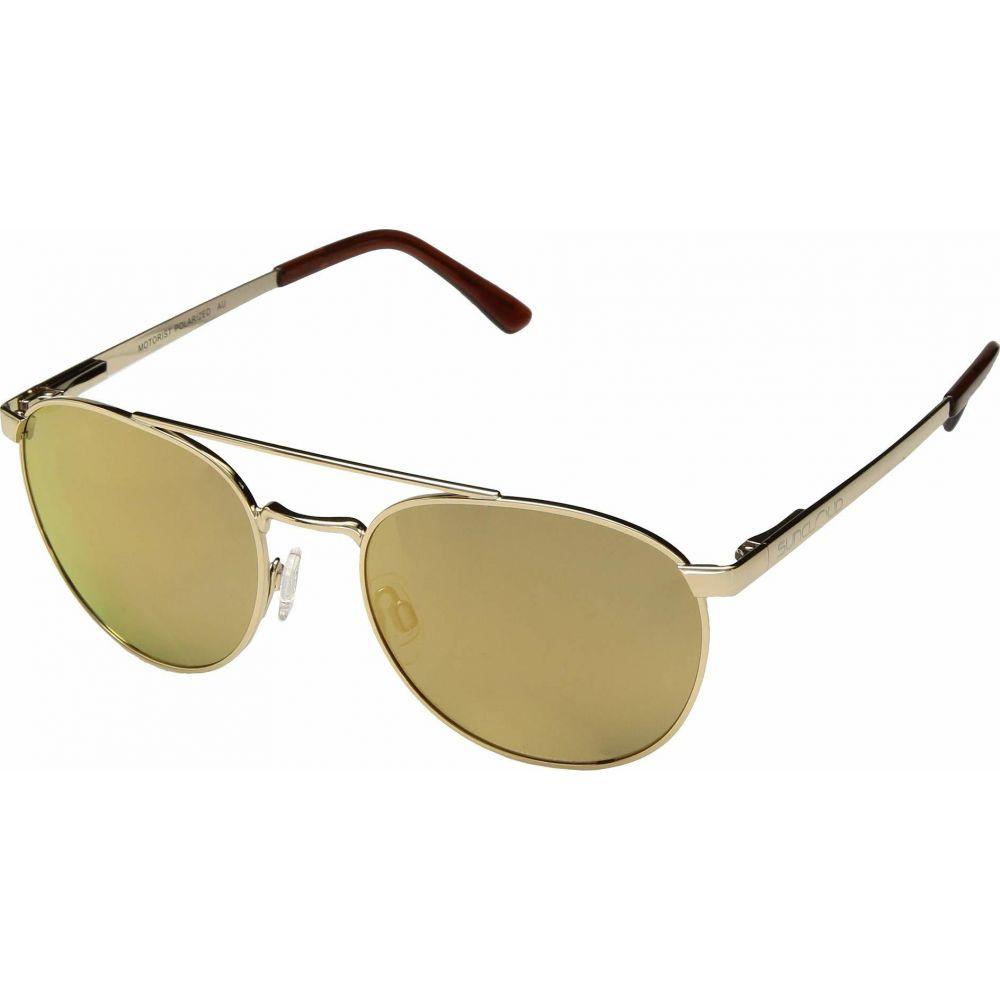 サンクラウド SunCloud Polarized Optics レディース メガネ・サングラス 【Motorist】Gold/Polarized Sienna Mirrror Lens