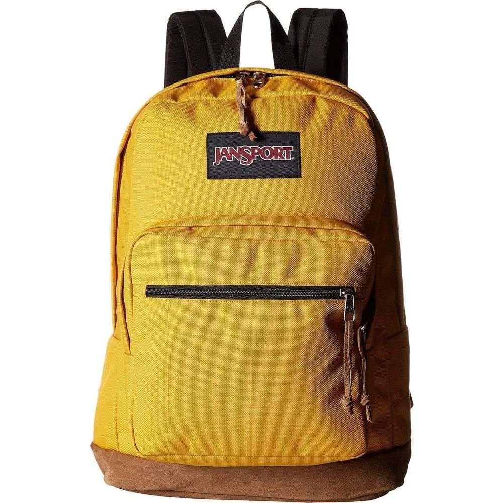 ジャンスポーツ JanSport レディース バックパック・リュック バッグ【Right Pack】English Mustard