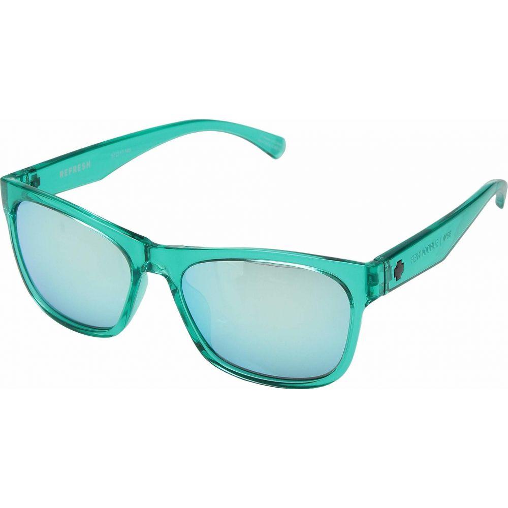 スパイ Spy Optic レディース メガネ・サングラス 【Sundowner】Emerald/Gray/Turquoise Mirror