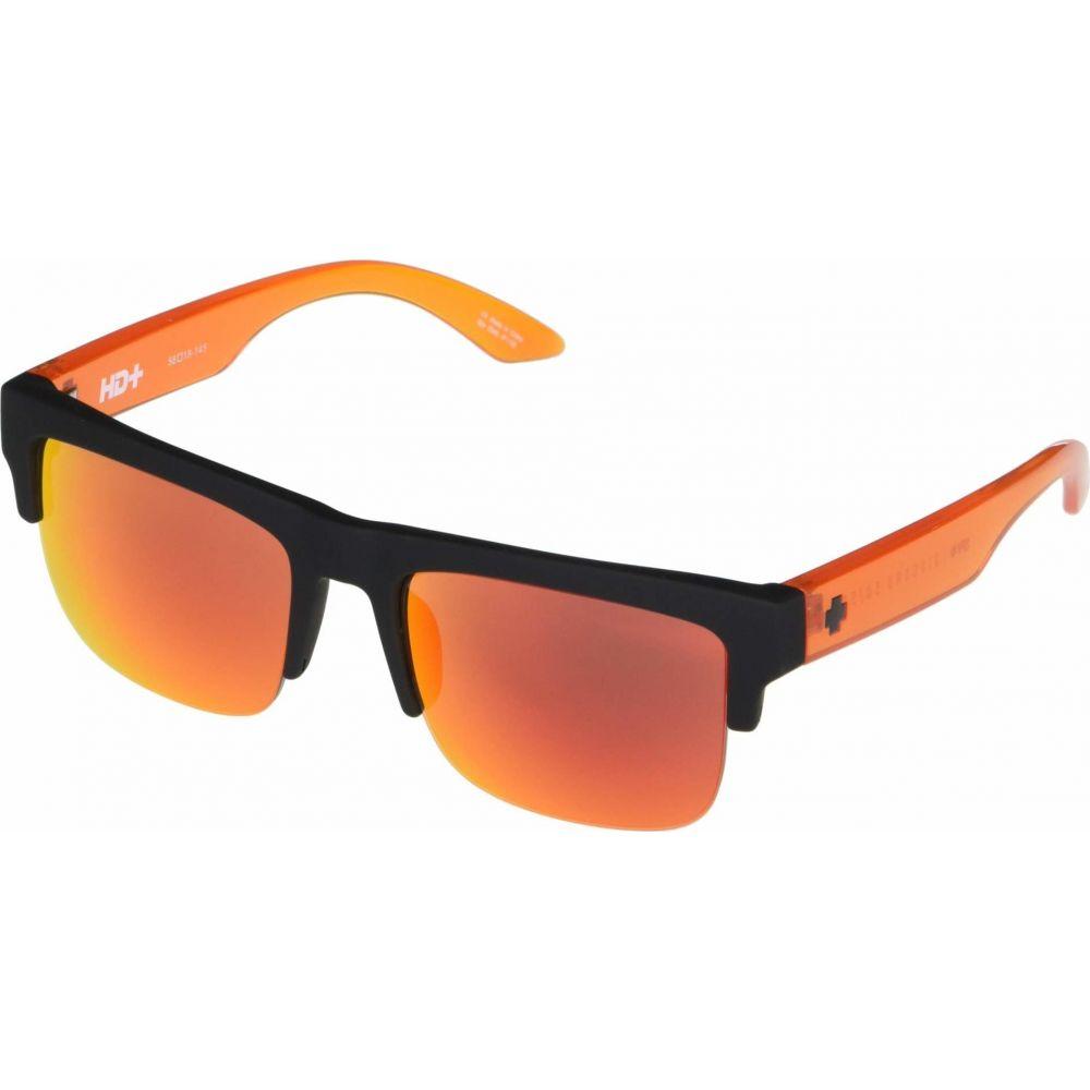 スパイ Spy Optic レディース メガネ・サングラス 【Discord 50/50】Soft Matte Black Translucent Orange/HD Plus Gray Green with Oran
