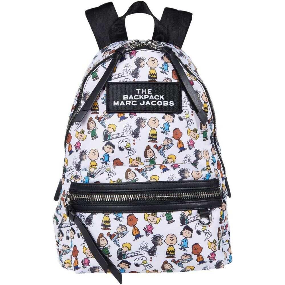マーク ジェイコブス Marc Jacobs レディース バックパック・リュック バッグ【The Backpack Peanuts】White Multi