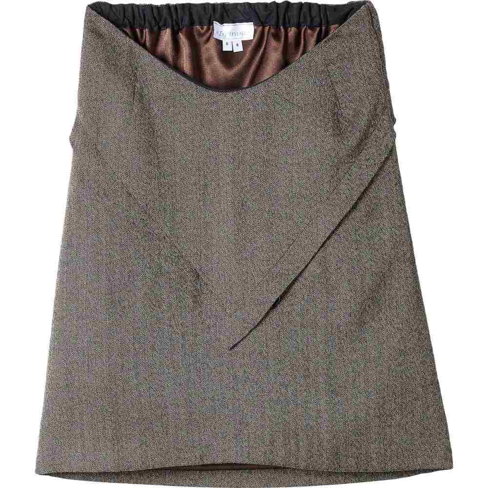 e Ispirante - Creative Adaptive Clothing レディース スカート 【Julienne Lined Skirt】Brown/Black