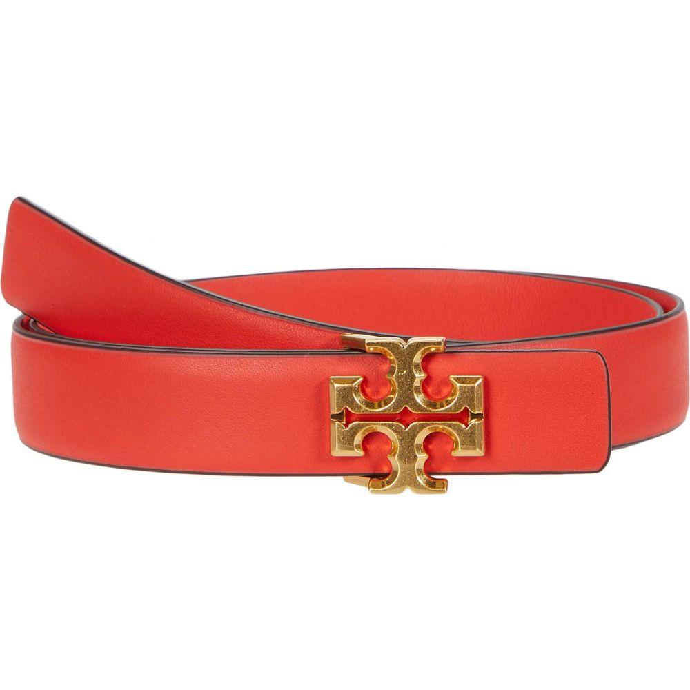 トリー バーチ Tory Burch レディース ベルト 【1' Kira Logo Belt】Bright Samba/Gold