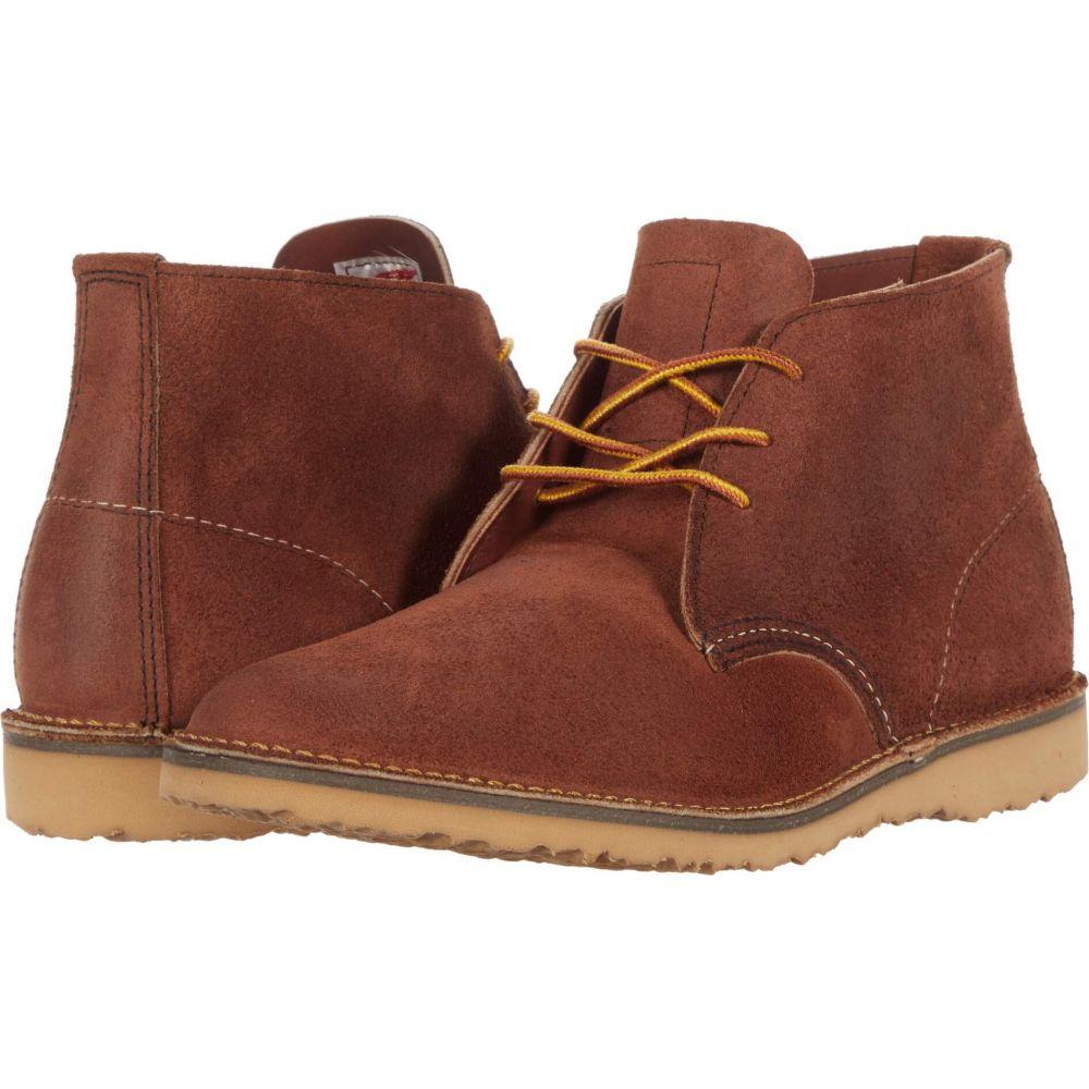 レッドウィング Red Wing Heritage メンズ ブーツ チャッカブーツ シューズ・靴【Weekend Chukka】Red Maple Muleskinner
