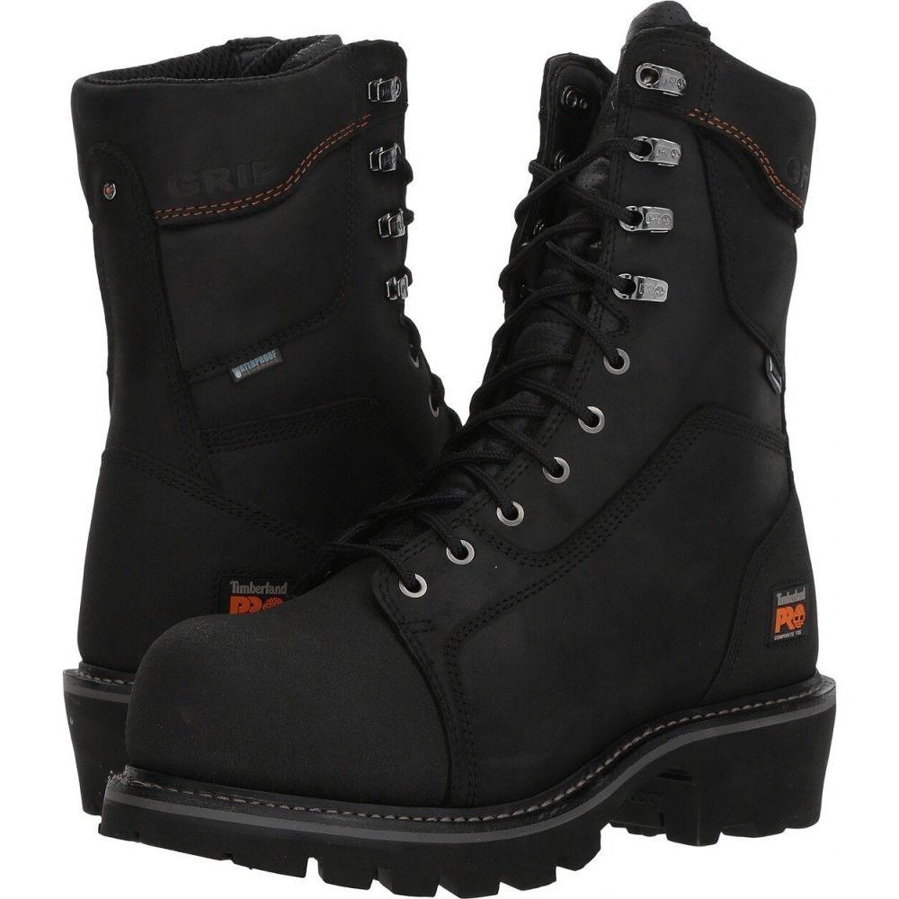 ティンバーランド Timberland PRO メンズ ブーツ シューズ・靴【Ripsaw Logger 9' Composite Toe Puncture Resistant Waterproof】Black