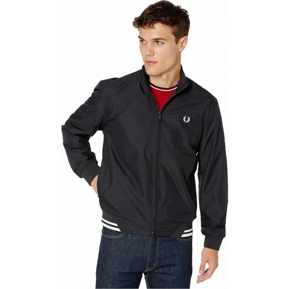 フレッドペリー Fred Perry メンズ ジャケット アウター【Twin Tipped Sports Jacket】Black:フェルマート