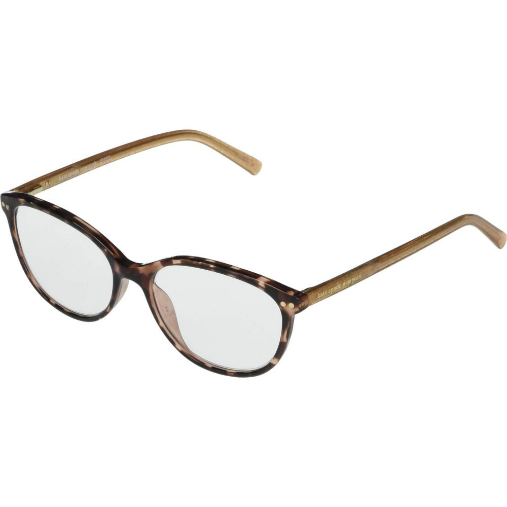 ケイト スペード Kate Spade New York レディース メガネ・サングラス 【Olive Blue Light Reading Glasses】Dark Havana