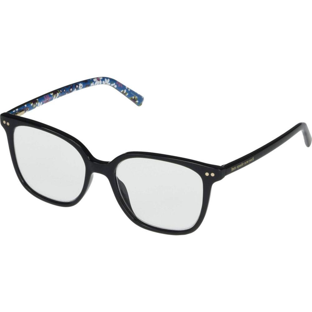 ケイト スペード Kate Spade New York レディース メガネ・サングラス 【Rosalie Blue Light Reading Glasses】Black