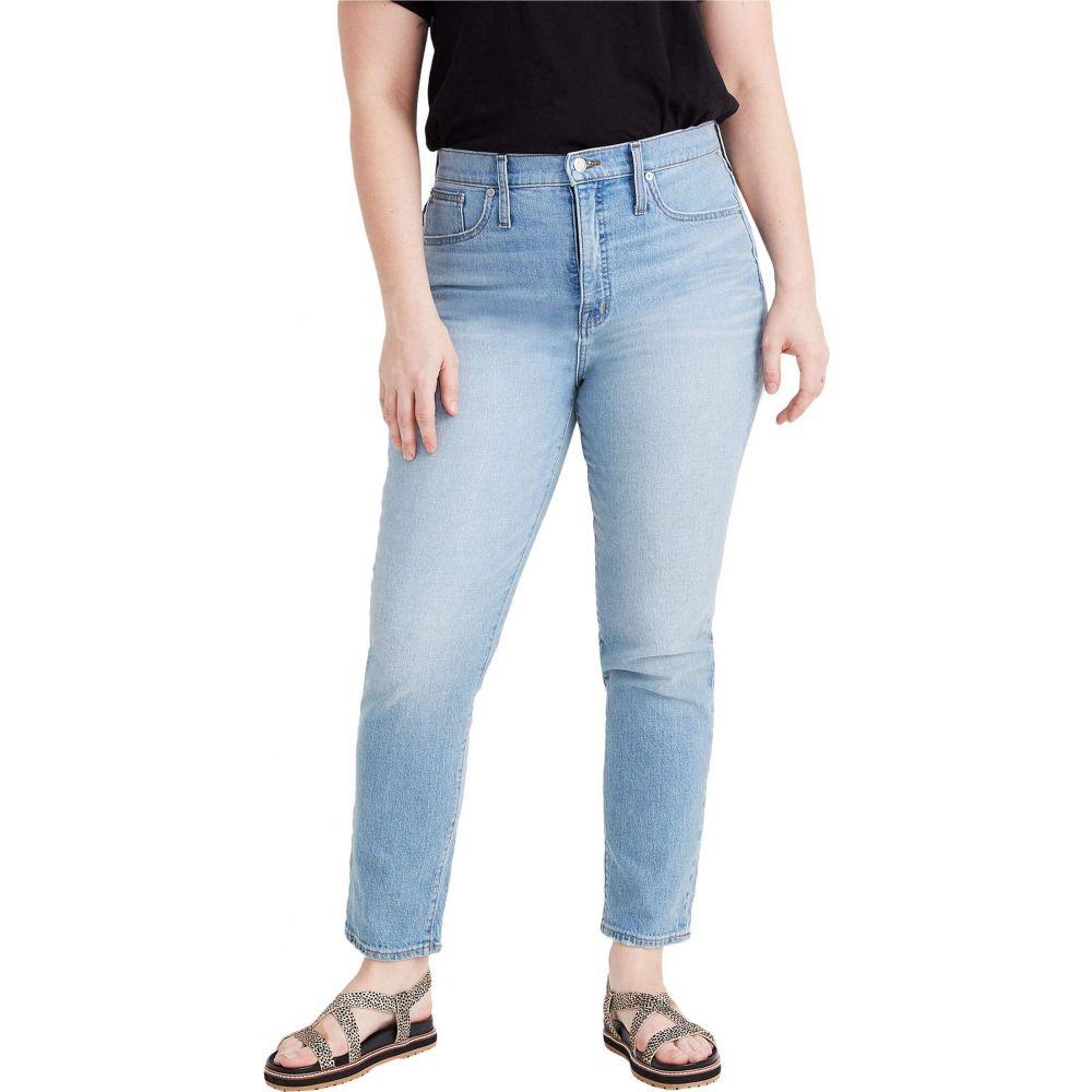 メイドウェル Madewell レディース ジーンズ・デニム ボトムス・パンツ【Classic Straight Jeans in Meadowland Wash】Meadowland Wash