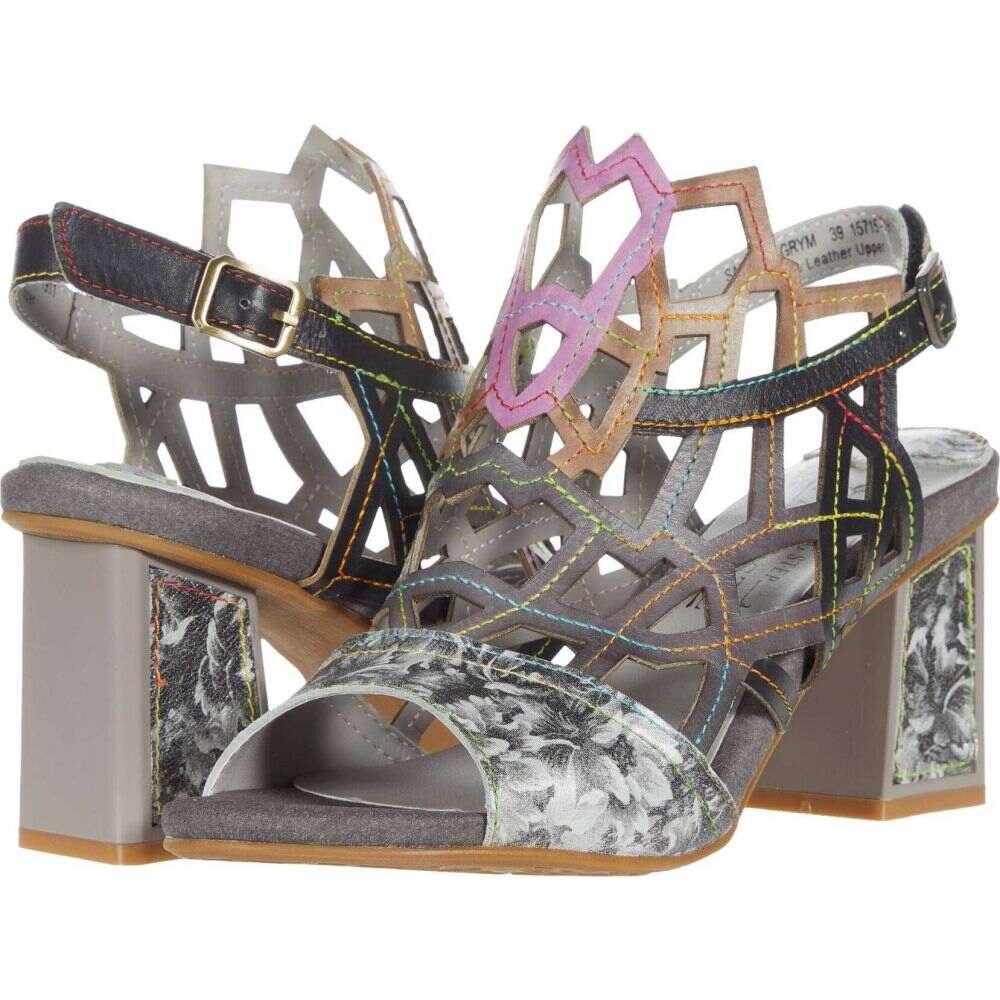 スプリングステップ L'Artiste by Spring Step レディース サンダル・ミュール シューズ・靴【Sanstar】Grey Multi