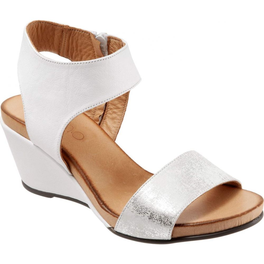 ブエノ Bueno レディース サンダル・ミュール シューズ・靴【Ida】White/Silver