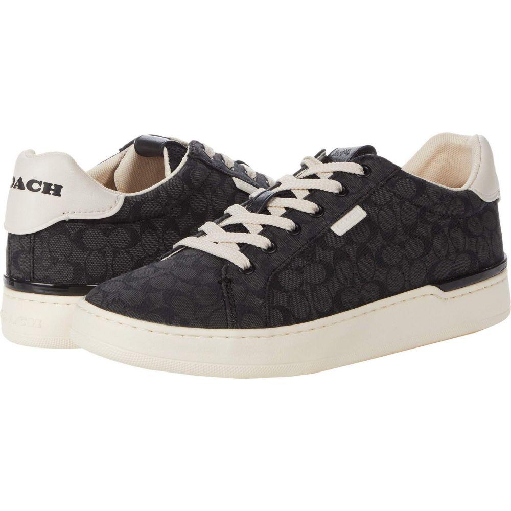 コーチ COACH レディース スニーカー ローカット シューズ・靴【Lowline Low Top Jacquard Sneaker】Black