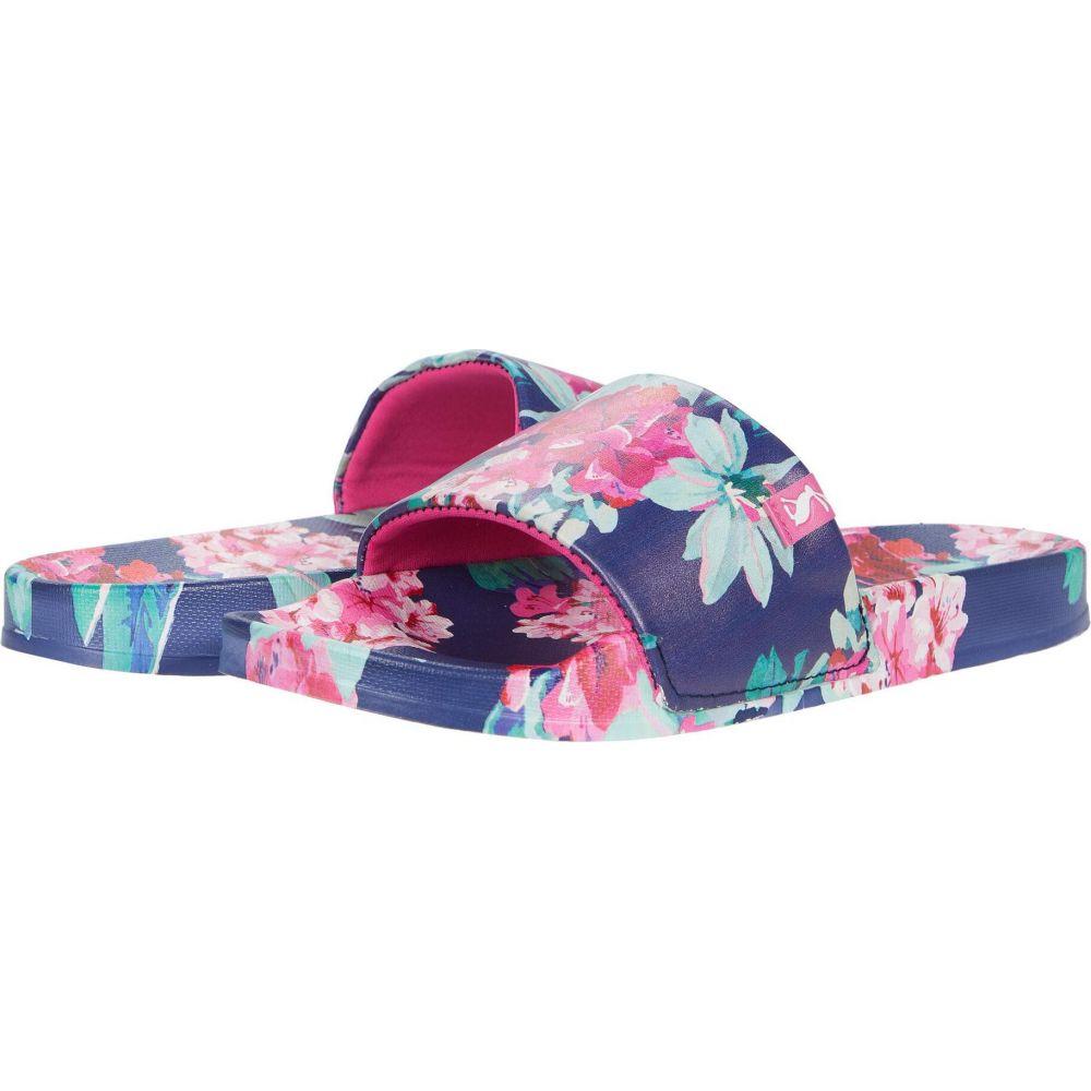 ジュールズ Joules レディース サンダル・ミュール シューズ・靴【Poolside】Blue Floral