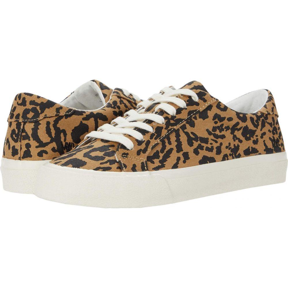 メイドウェル Madewell レディース スニーカー ローカット シューズ・靴【Sidewalk Low Top Sneakers】Leopard Print Autumn Canvas