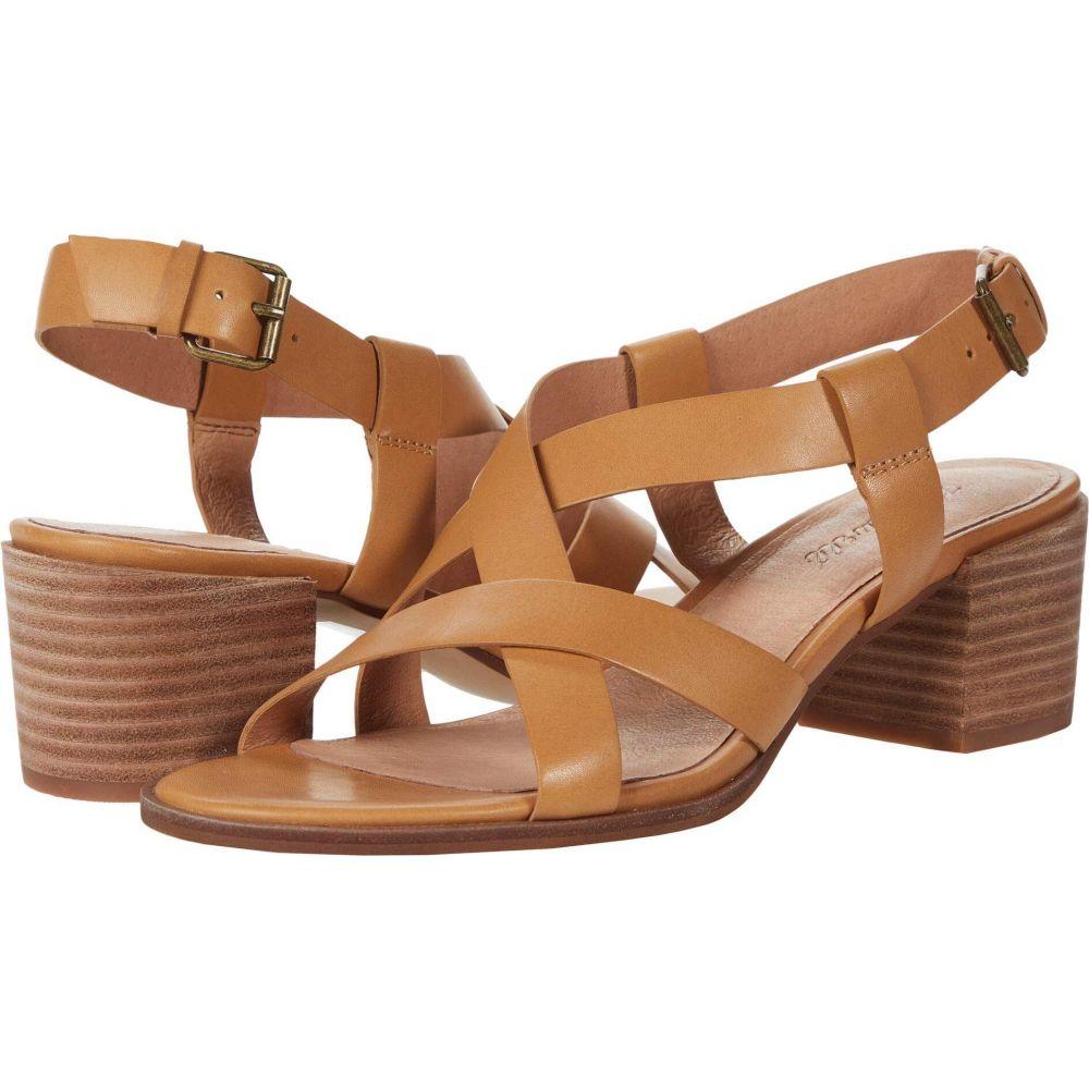 メイドウェル Madewell レディース サンダル・ミュール シューズ・靴【Odel Asymmetric Sandal】Amber Brown