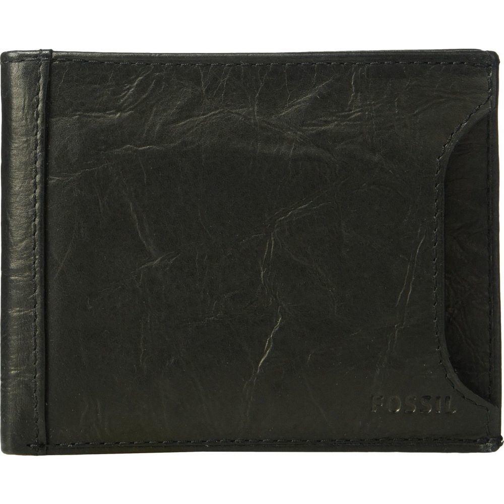 フォッシル Fossil メンズ 財布 【Neel Sliding 2-in-1 Wallet】Black