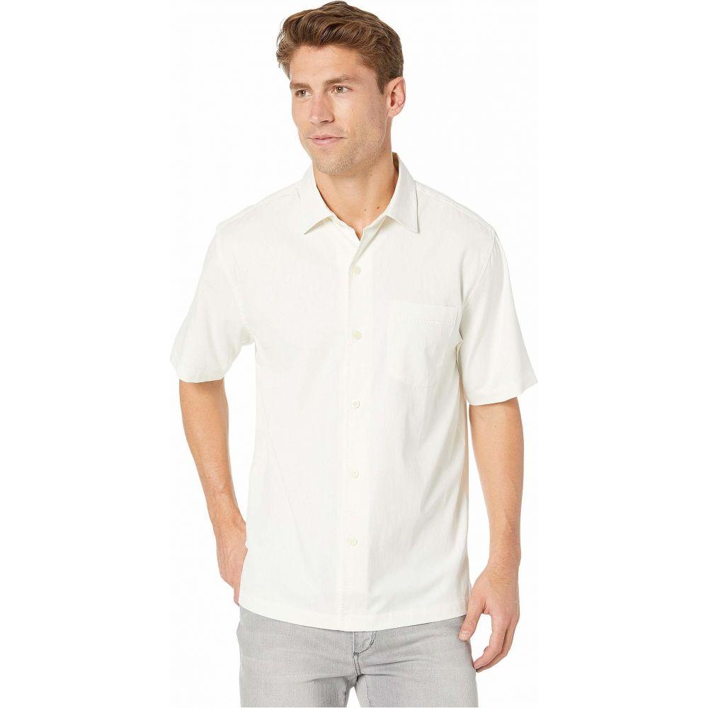 トミー バハマ Tommy Bahama メンズ シャツ トップス【Catalina Stretch Twill Shirt】White