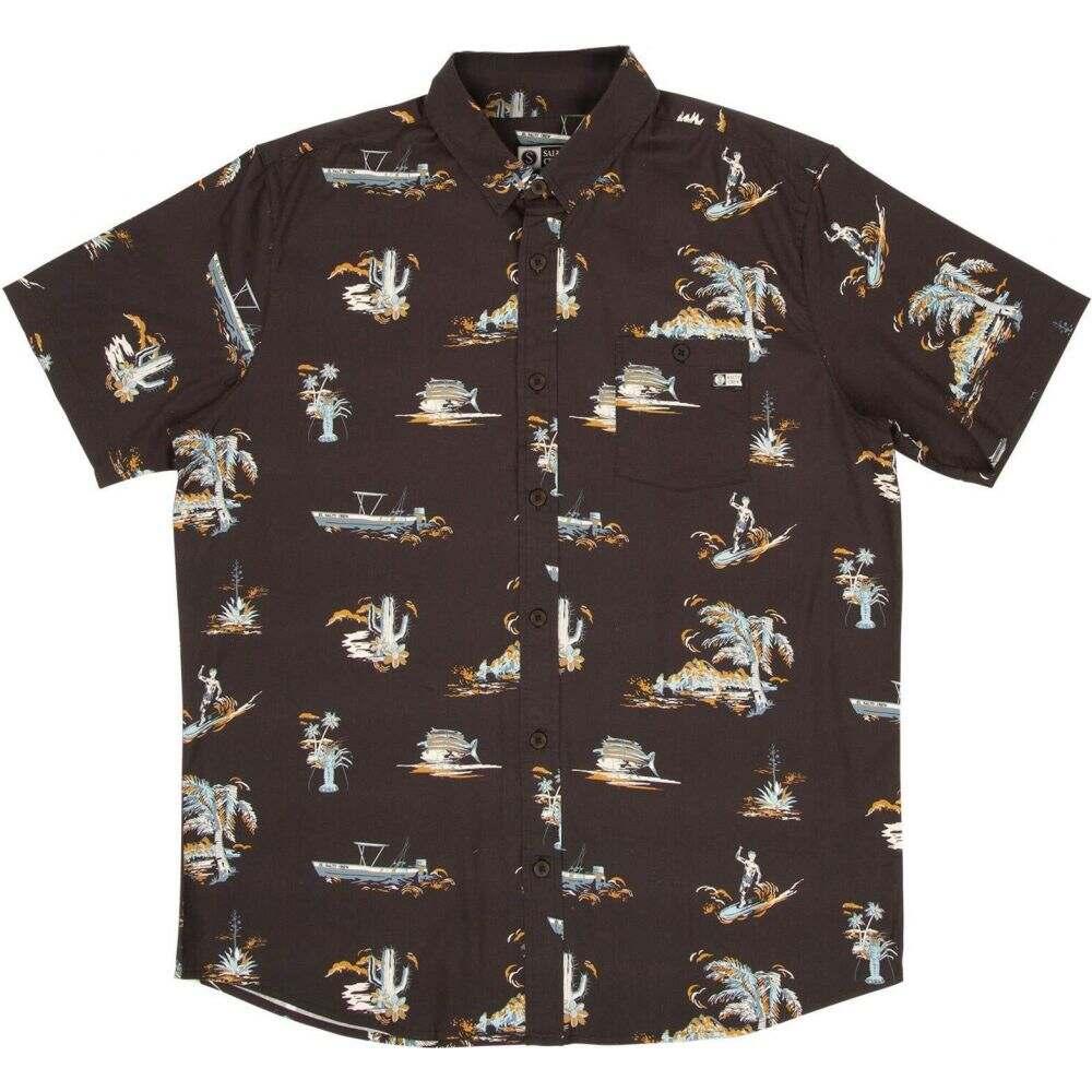 ソルティークルー Salty Crew メンズ 半袖シャツ トップス【Pescador Short Sleeve Woven】Vintage Black