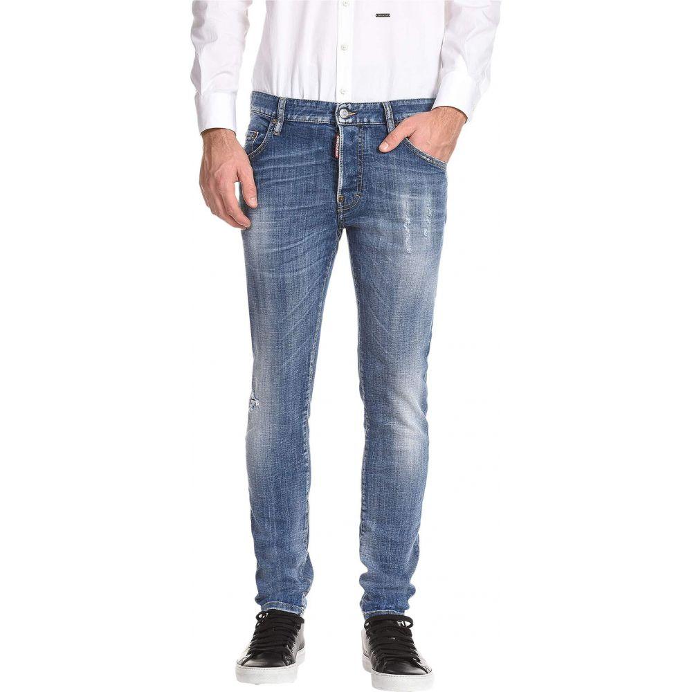 ディースクエアード DSQUARED2 メンズ ジーンズ・デニム ボトムス・パンツ【Skater Medium Wash Jeans in Blue】Blue
