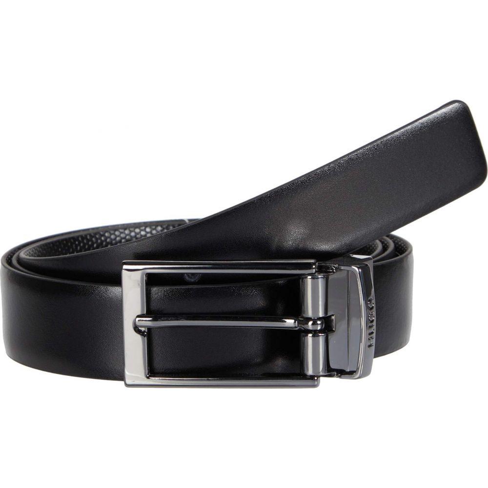 ヒューゴ ボス BOSS Hugo Boss メンズ ベルト 【Gilvin Leather Belt by HUGO】Black