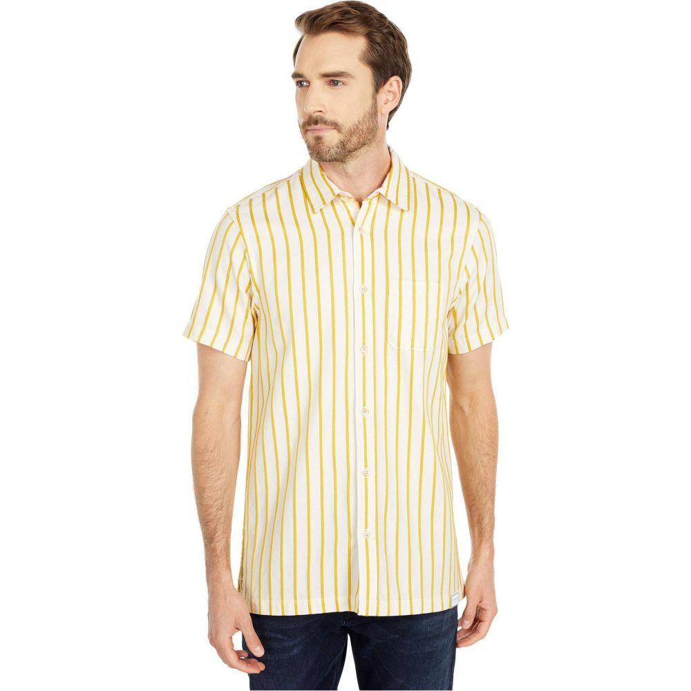 スコッチ&ソーダ Scotch & Soda メンズ 半袖シャツ トップス【Short Sleeve Shirt in Structured Stripe】Combo B
