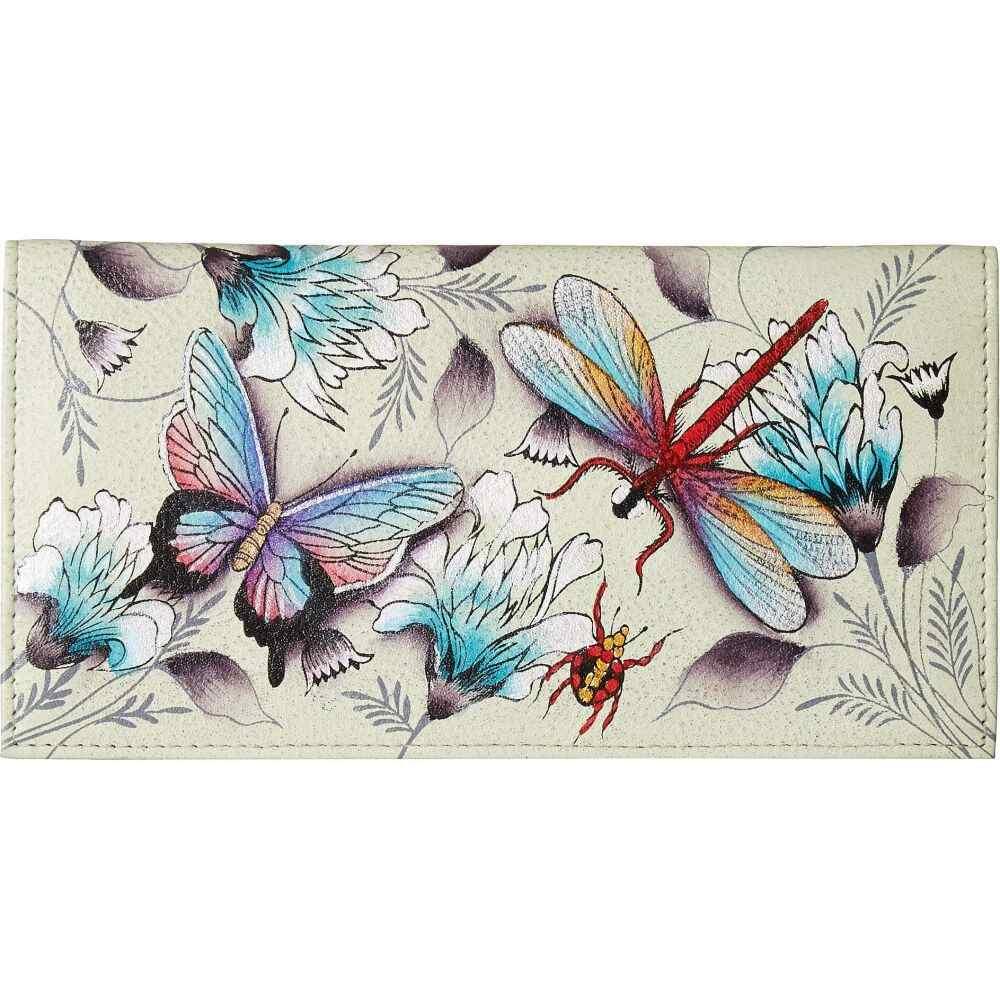 アヌシュカ Anuschka Handbags レディース 財布 【Checkbook Cover 1056】Wondrous Wings