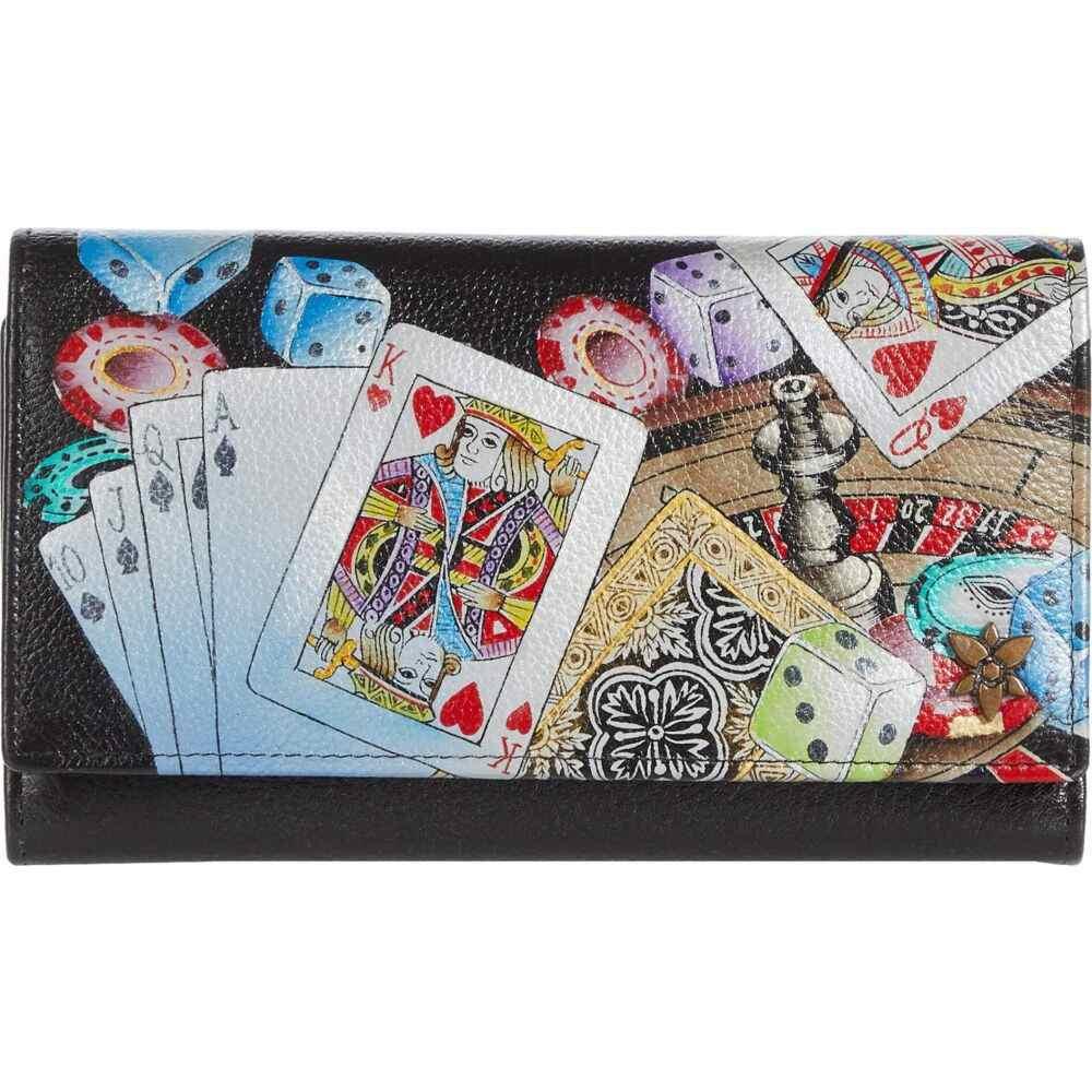 アヌシュカ Anuschka Handbags レディース 財布 【Checkbook Clutch with RFID - 1153】High Roller