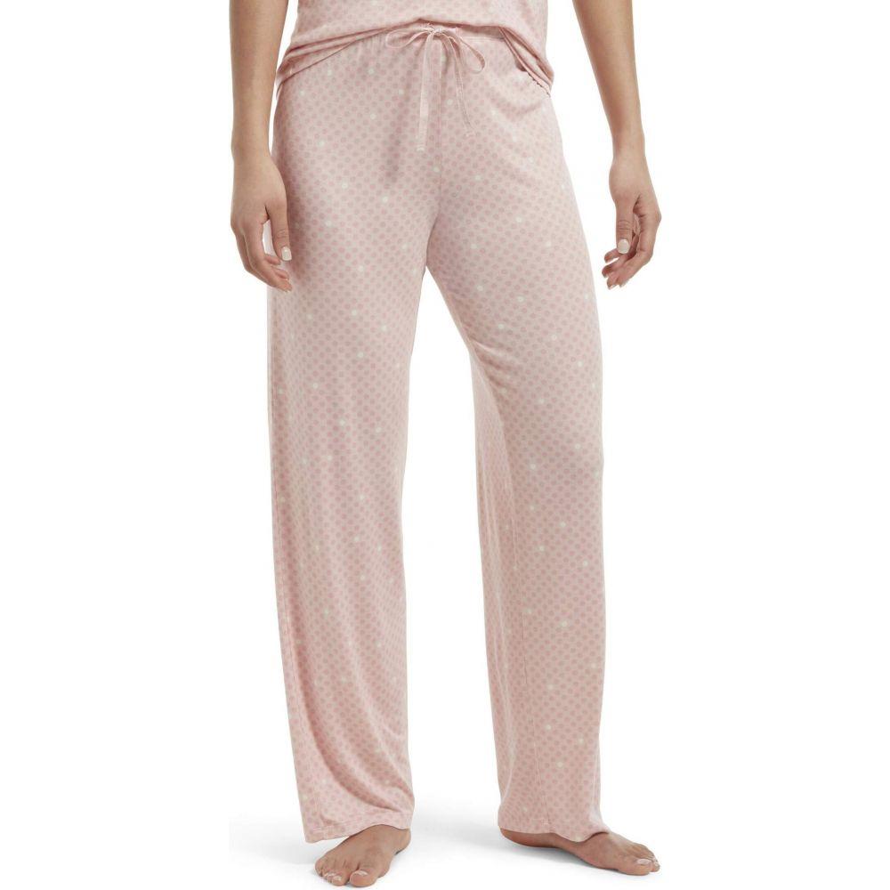 フエ HUE レディース パジャマ・ボトムのみ 大きいサイズ インナー・下着【Plus Size Solid Long PJ Pants with Temp Tech】Calming Rose