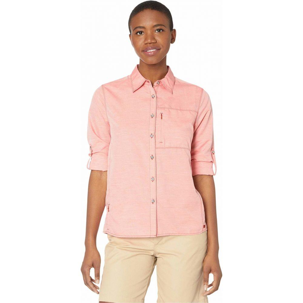 マウンテンハードウェア Mountain Hardwear レディース ブラウス・シャツ トップス【Canyon(TM) Long Sleeve Shirt】Desert Red