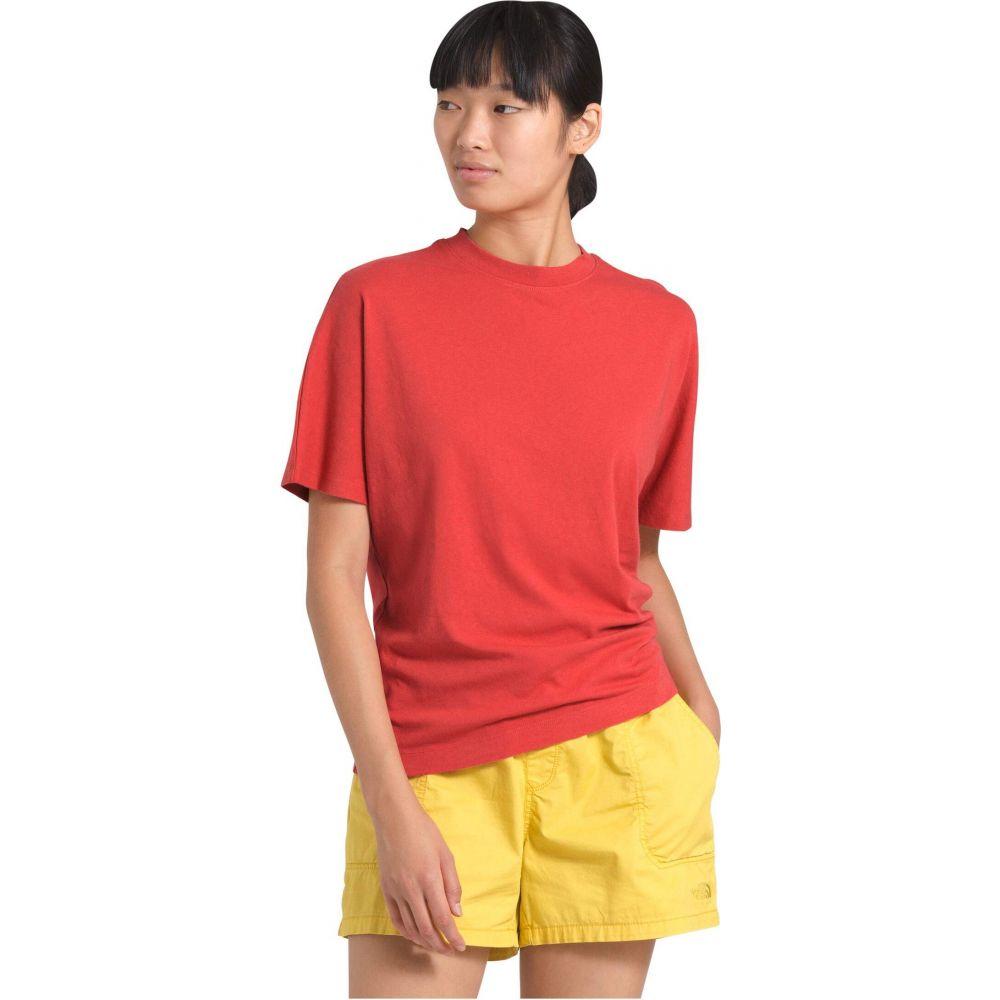 ザ ノースフェイス The North Face レディース Tシャツ トップス【Woodside Hemp Short Sleeve Top】Sunbaked Red